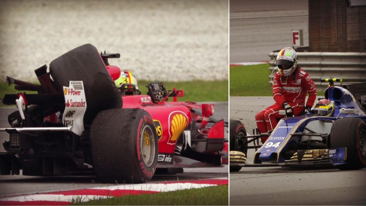 Sebastien Vettel GP Malaisie