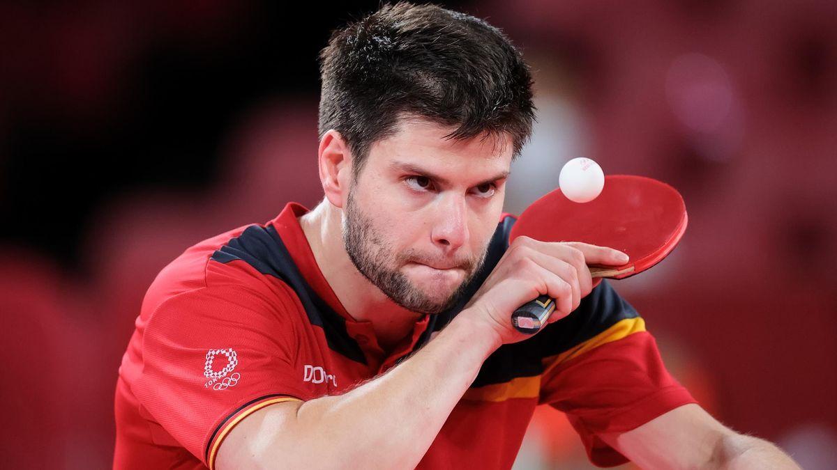 Dimitrij Ovtcharov will auch im Team-Wettbewerb glänzen.