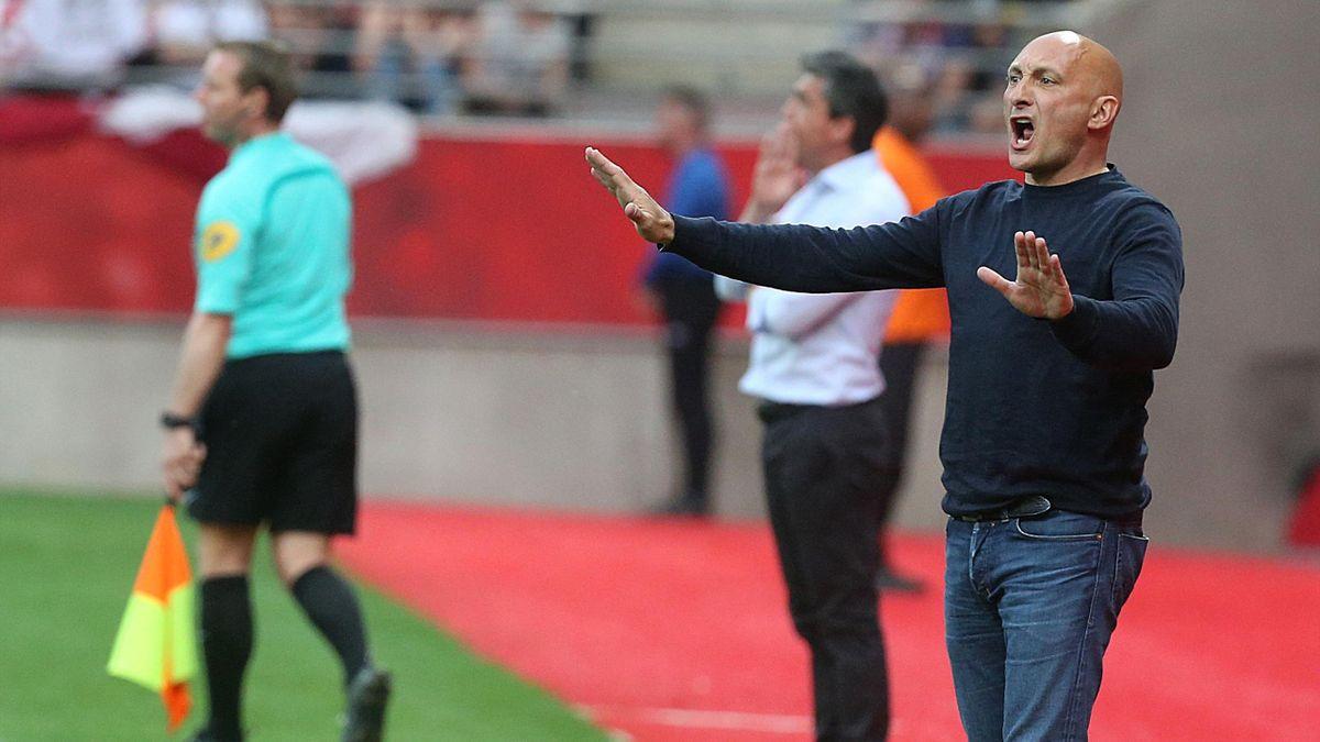 Olivier Pantaloni, coach de l'AC Ajaccio