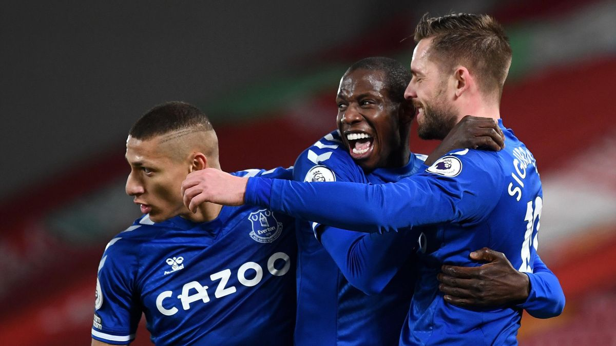 Premier League Everton Smash Anfield Hoodoo With Victory Over Liverpool Eurosport