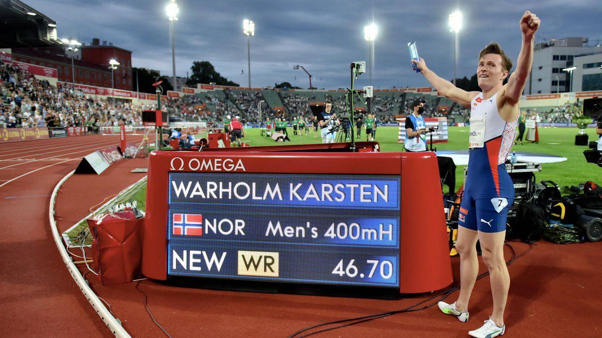 Карстен Вархольм и его мировой рекорд