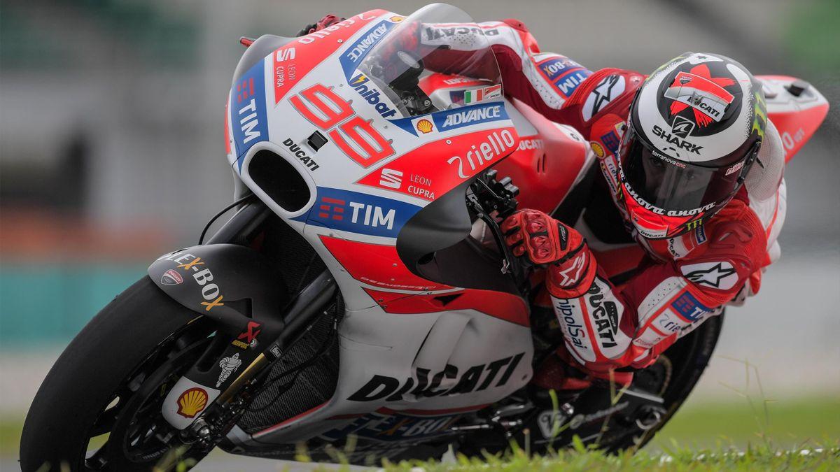 Jorge Lorenzo - Ducati 2017
