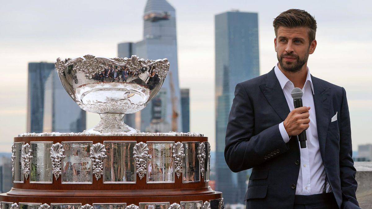 Gerard Piqué, l'homme fort de la nouvelle Coupe Davis.