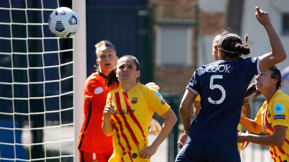 Alana Cook, buteuse pour le PSG face au Barça - Ligue des champions féminine 2020-21