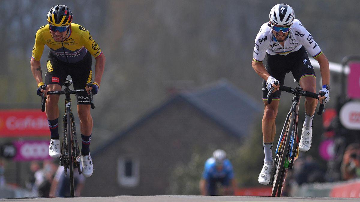 Showdown an der Mauer: Das Finale beim Flèche Wallonne