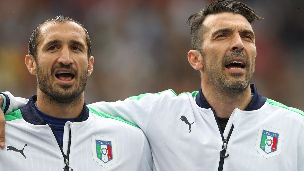 Giorgio Chiellini & Gianluigi Buffon