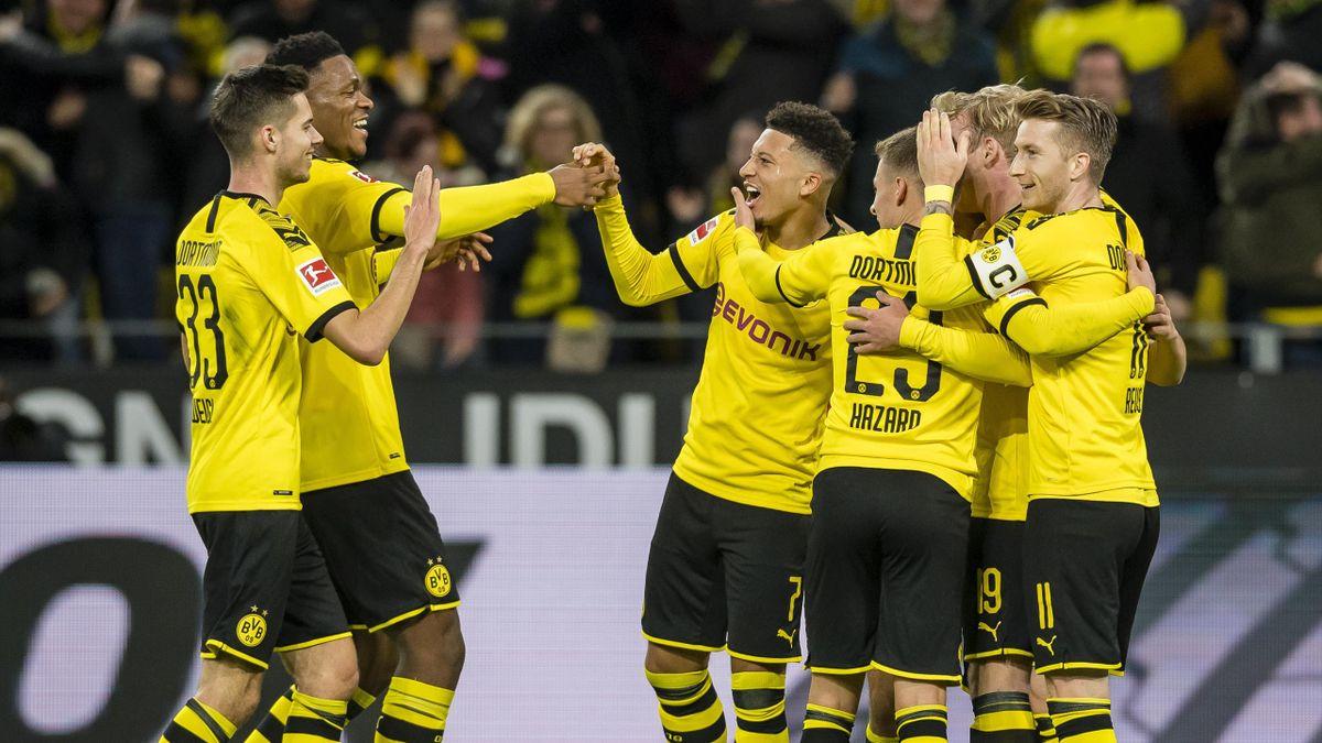 Brandt - Borussia Dortmund-RB Leipzig - Bundesliga 2019/2020 - Getty Images