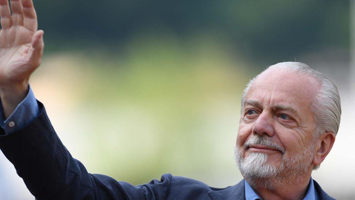 De Laurentiis - ritiro Napoli 2019 - Getty Images