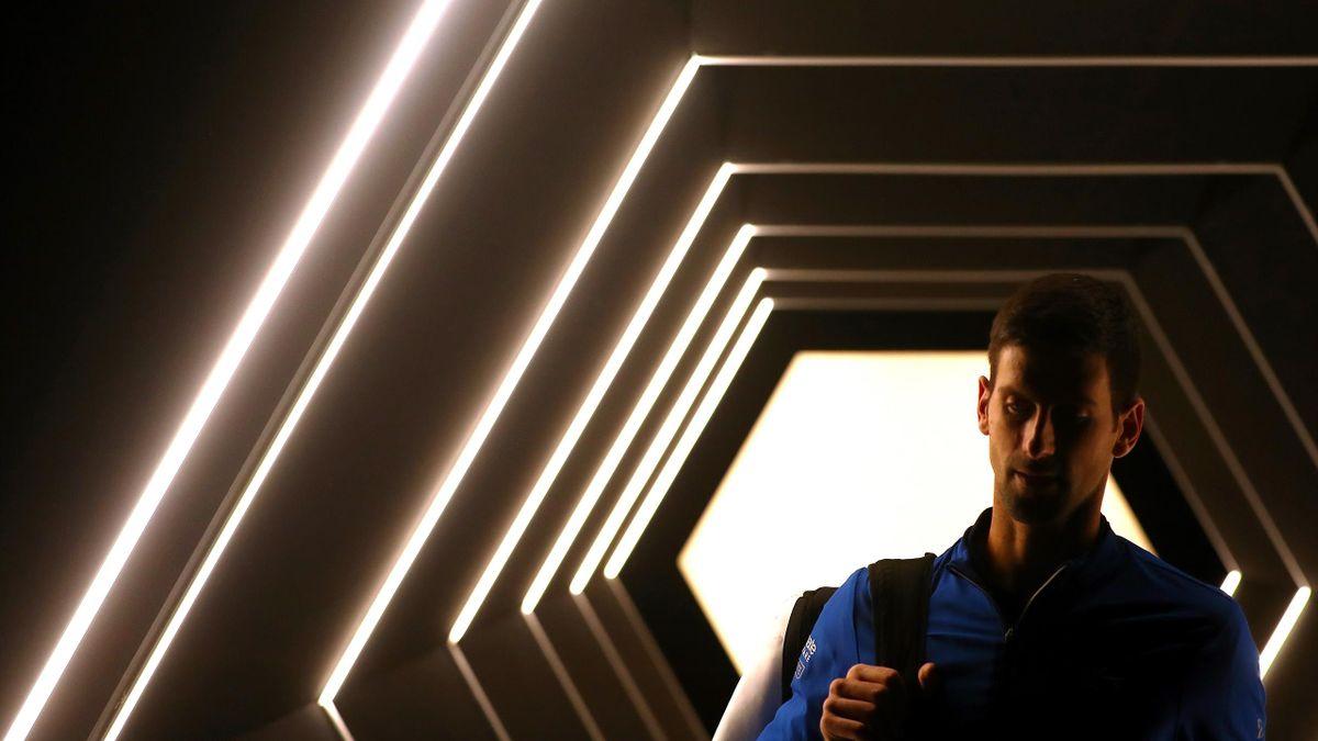 Novak Djokovic à Bercy