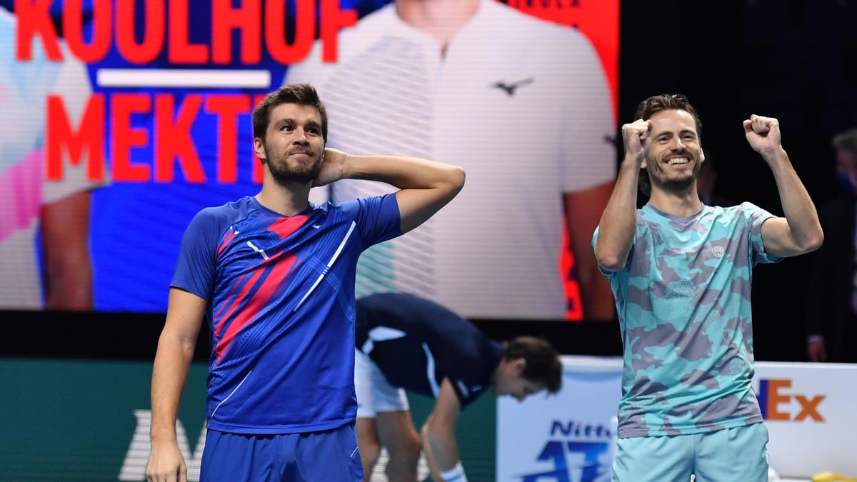 Nikola Mektic și Wesley Koolhof, campioni la Turneul Campionilor, la dublu