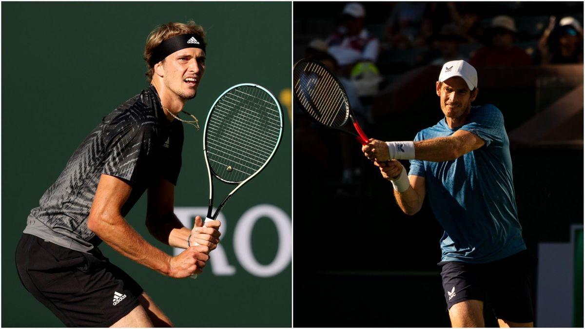 Alexander Zverev og Andy Murray