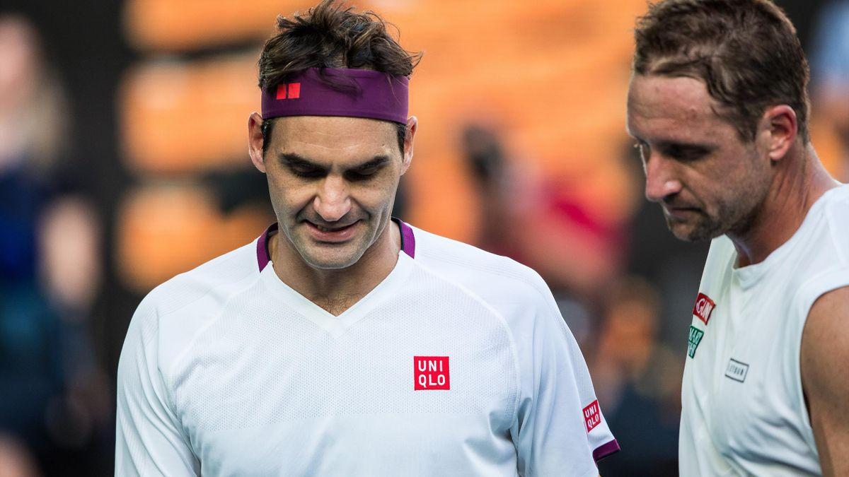 Tennys Sandgren & Roger Federer la AO 2020