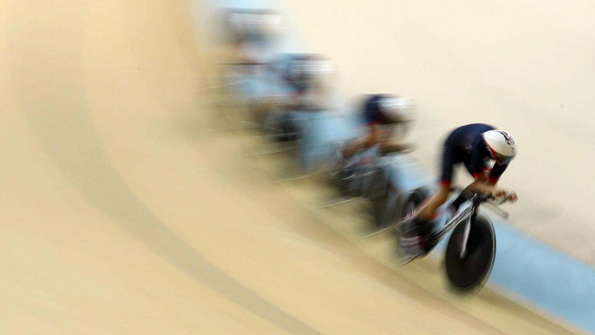 Trott women's team pursuit