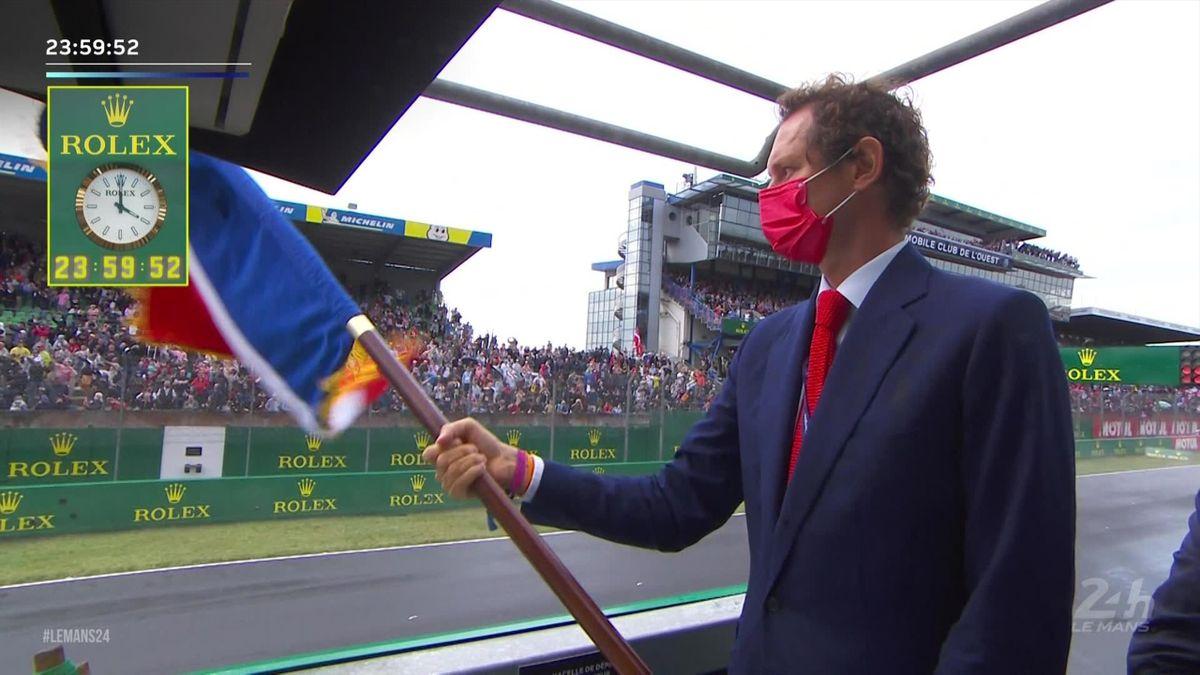 24 uur Le Mans   Natte start verloopt dramatisch voor Toyota met startnummer 8