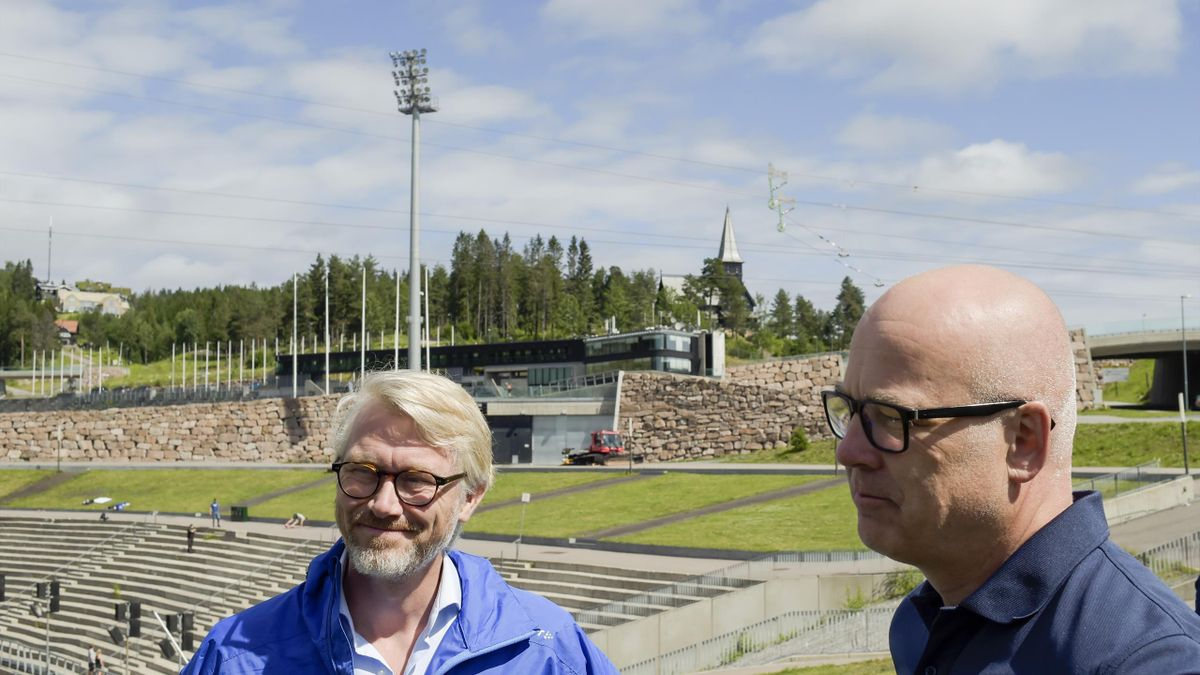 Olav T. Sandnes og Thor Gjermund Eriksen