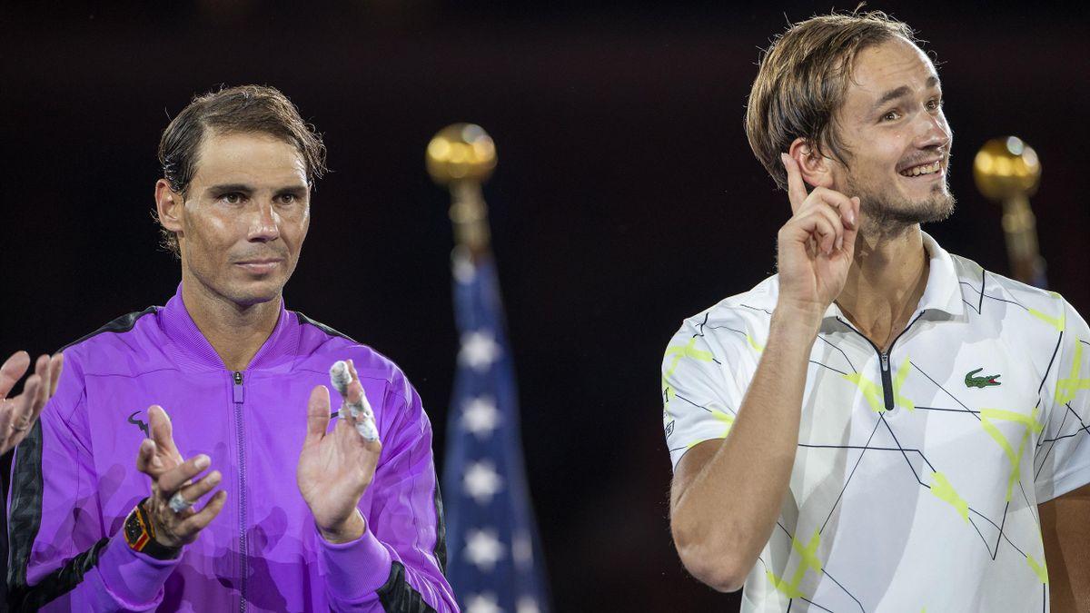 Daniil Medvedev's speech, Rafael Nadal, US Open-2019 Final