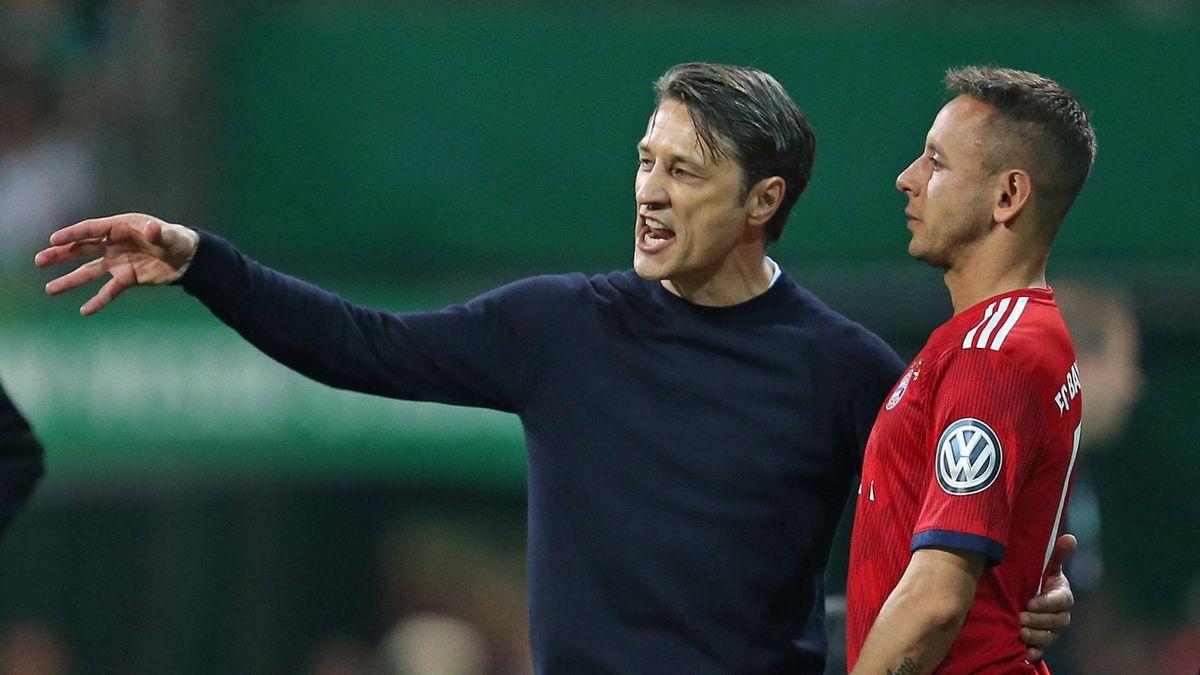 Niko Kovac und Rafinha beim FC Bayern München