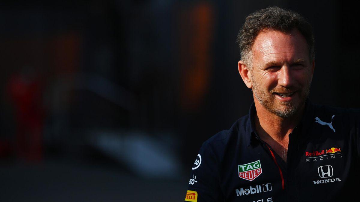 Christian Horner, patron de l'écurie Red Bull, au Grand Prix des Pays-Bas le 3 septembre 2021