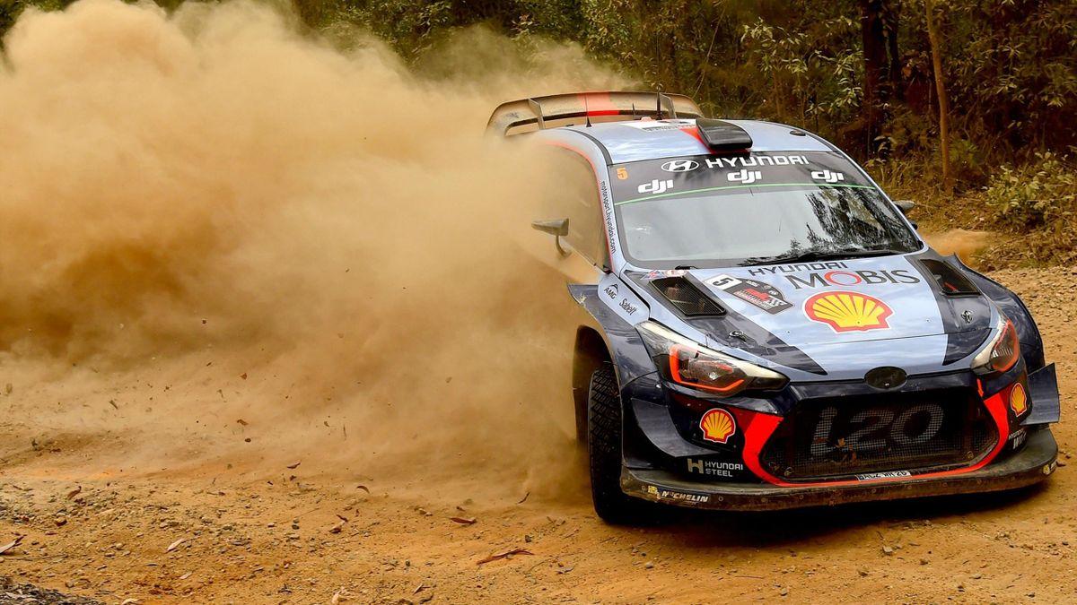 Thierry Neuville (Hyundai MST) - Rally of Australia 2017
