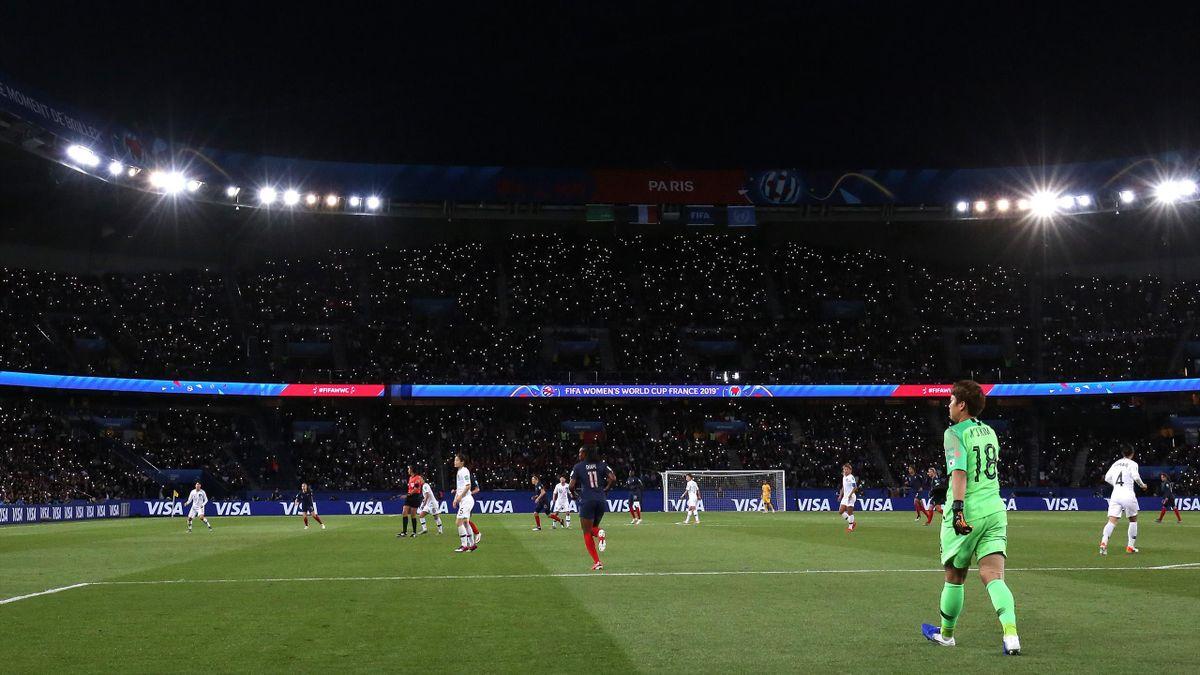 France - Corée du Sud au Parc des Princes - Mondial 2019