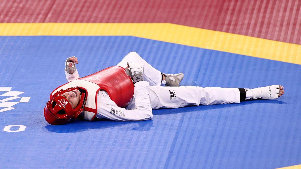 Kimia Alizadeh hat eine Medaille knapp verpasst.
