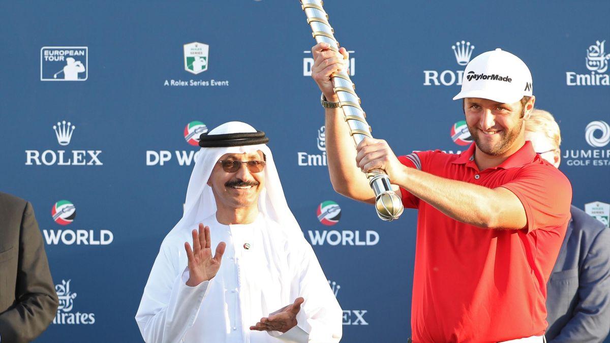 Jon Rahm ganador del DP World Tour Golf Championship at Jumeirah Golf Estates