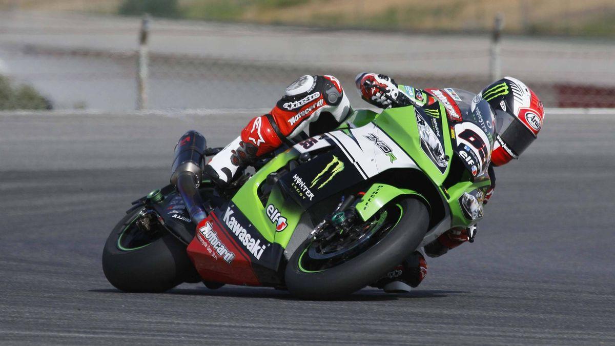 Jonathan Rea (Kawasaki) gewinnt auch in Portimao das Superbike-Rennen