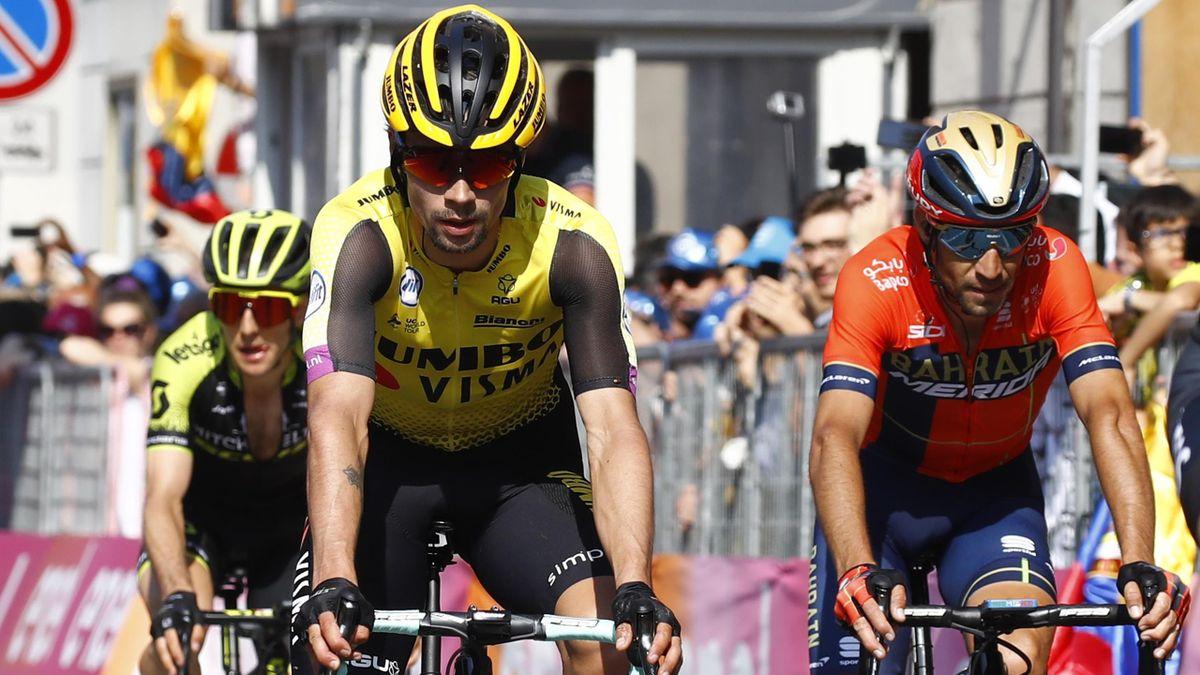 Vincenzo Nibali, Primoz Roglic - Giro d'Italia 2019 stage 12 - Getty Images