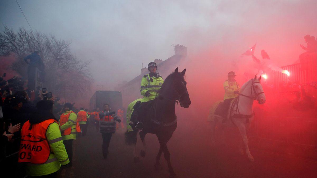 Poliția din Liverpool este alertată