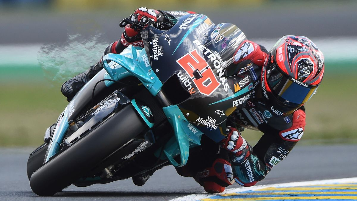 Fabio Quartararo lors du Grand Prix de France MotoGP 2020 au Mans