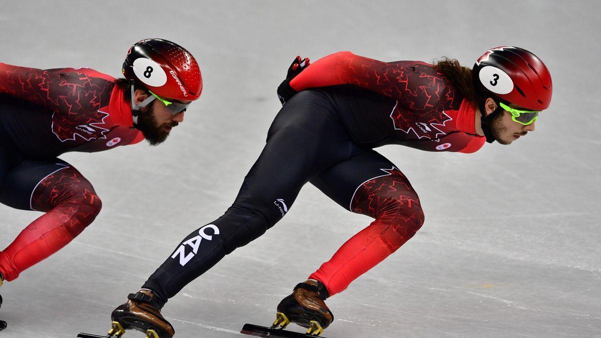 Shorttrack bei Olympia 2018: Samuel Girard (Kanada)