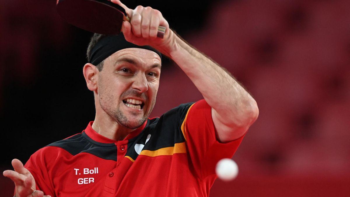Timo Boll scheitert erneut im Achtelfinale.