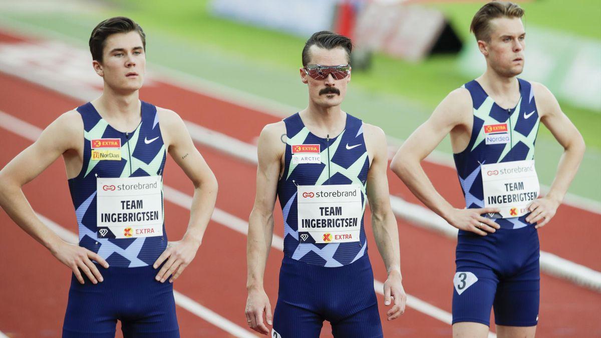 Jakob, Henrik og Filip Ingebrigtsen