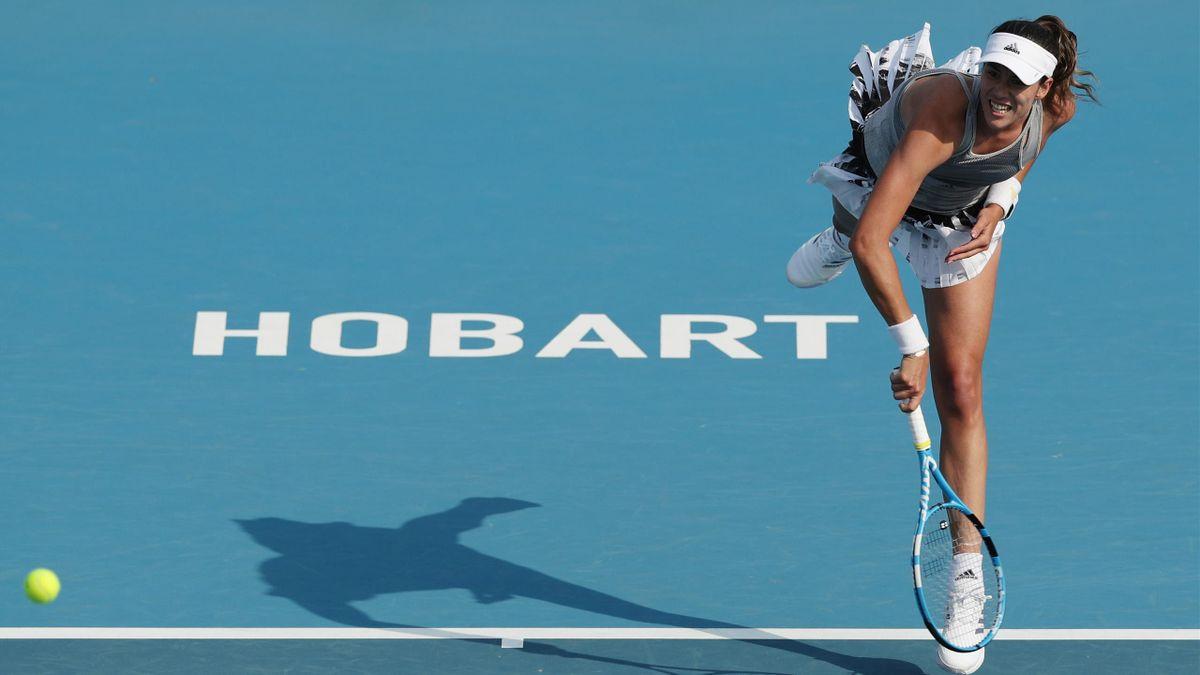Garbiñe Muguruza, WTA Hobart