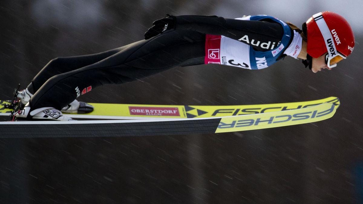 Zweite in Sapporo: Katharina Althaus
