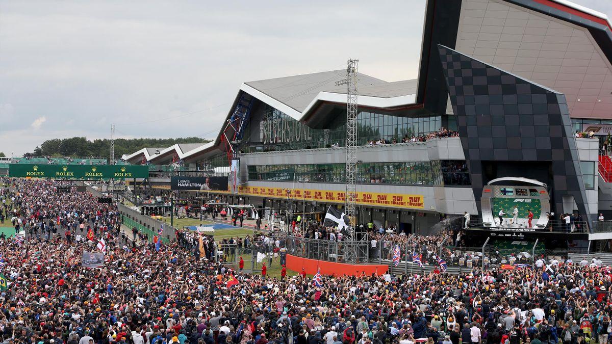 Silverstone crowd  - GP of Great Britain 2019