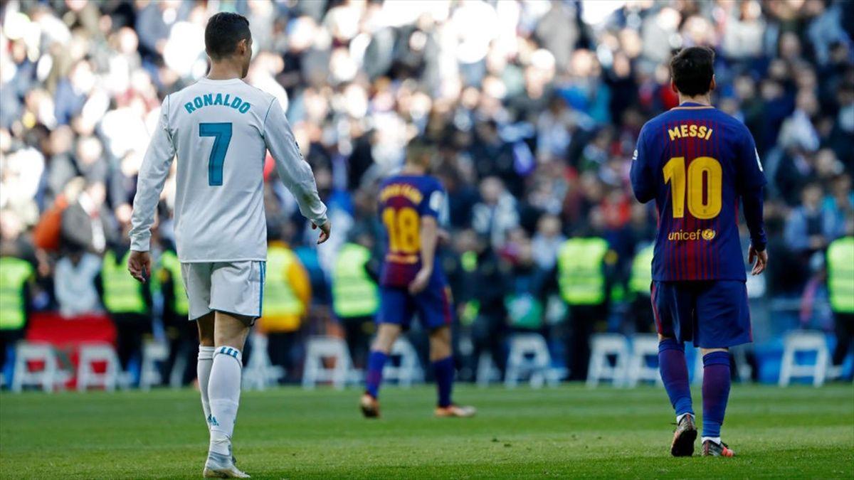 Cristiano Ronaldo en Lionel Messi