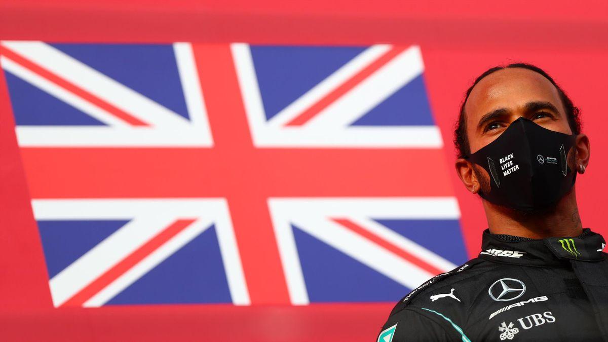 Lewis Hamilton (Mercedes) vainqueur à Imola