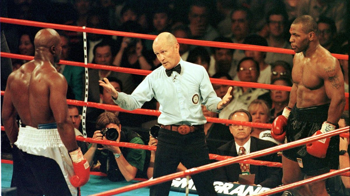 Mike Tyson Evender Holyfield 1997