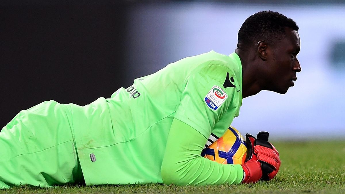Alfred Gomis, Spal 2017-2018 (Getty Images)