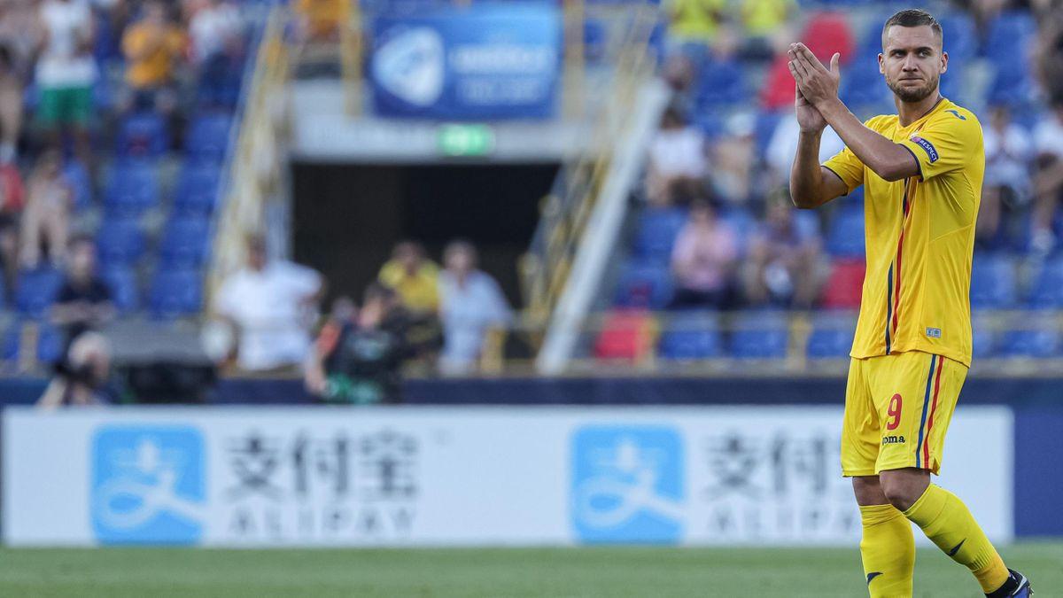 Campionato Europeo Under 21 2019, Germania-Romania: George Puscas (Romania) (Getty Images)