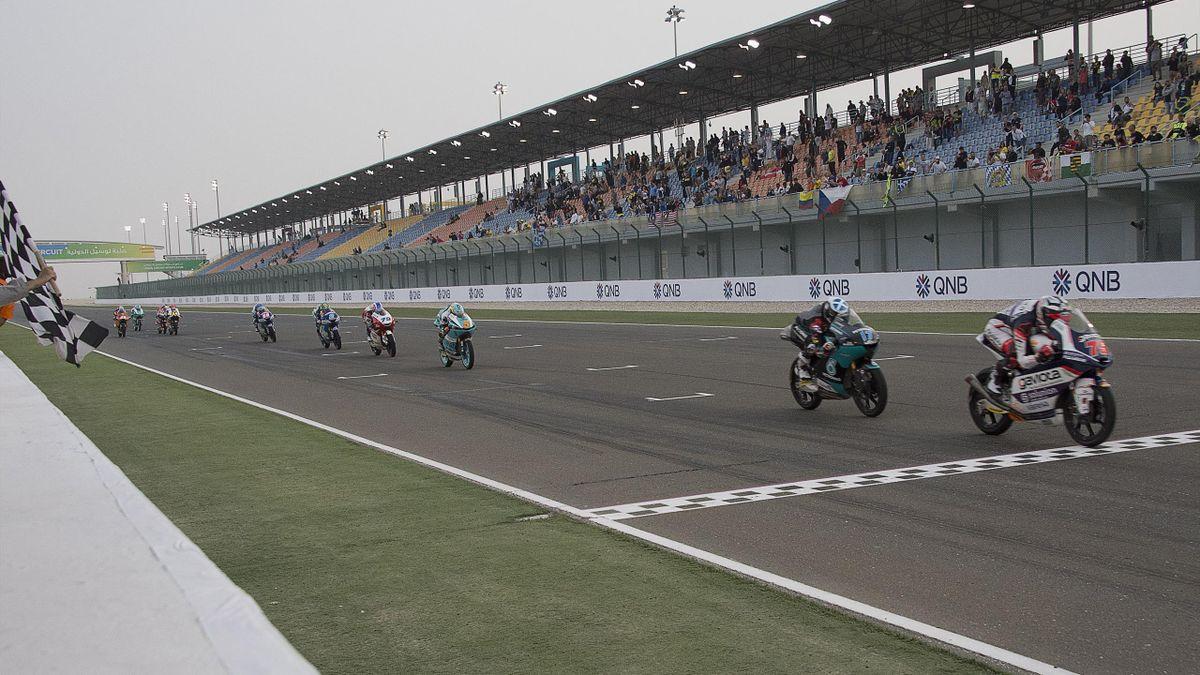 Moto3 Qatar Finish Albert Arenas