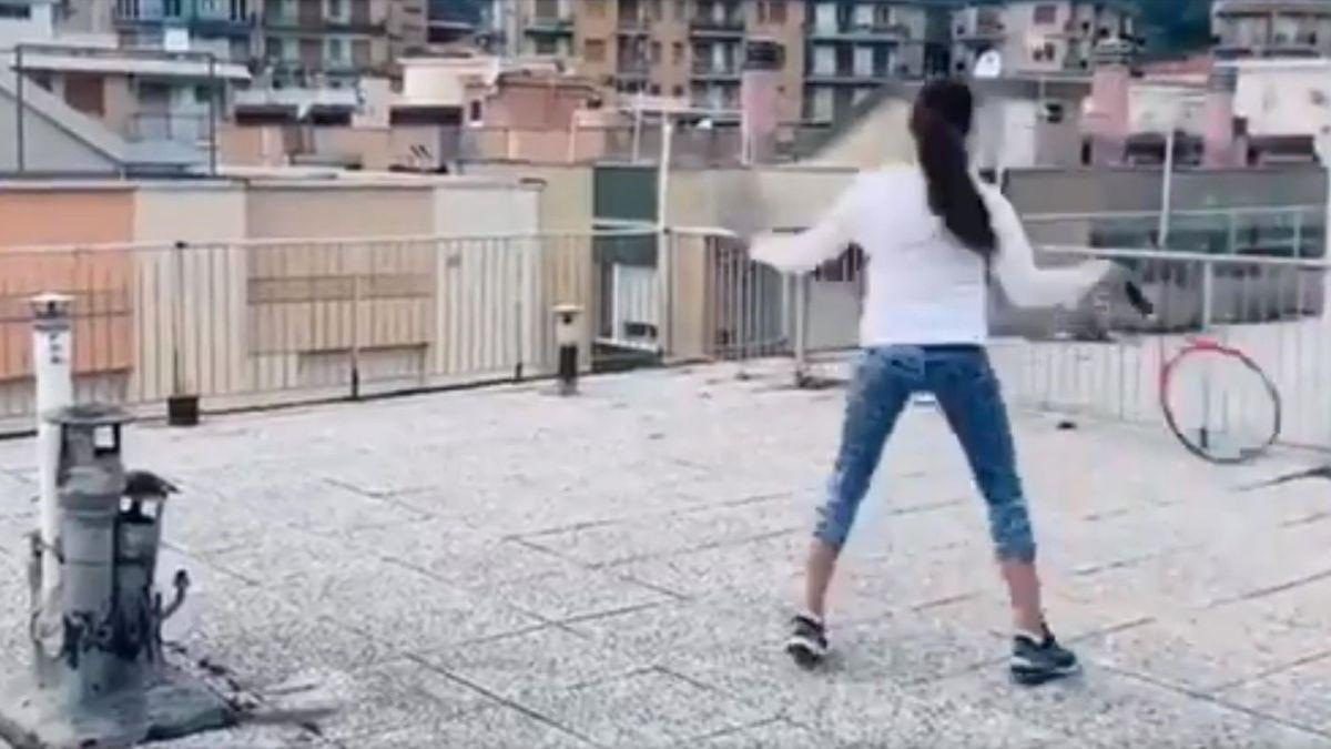 Tennis sur les toits en Italie