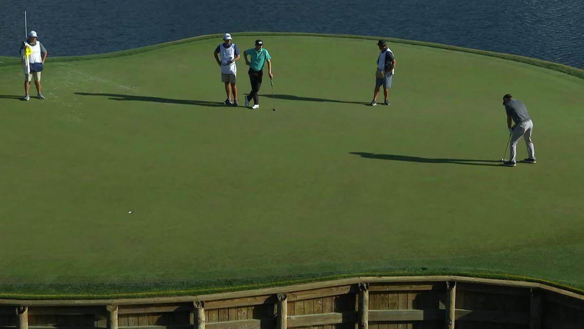 Golf PGA Tour TPC Sawgrass Day 2 : McCumber make a huge putt