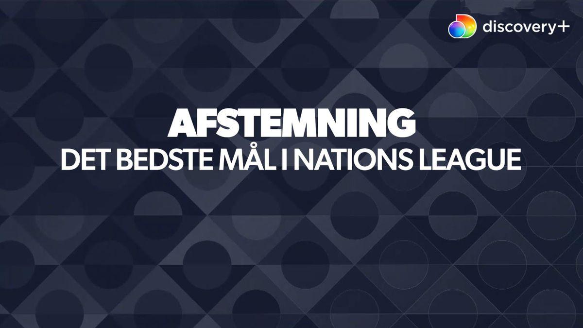 Afstemning: Det bedste mål i Nations League