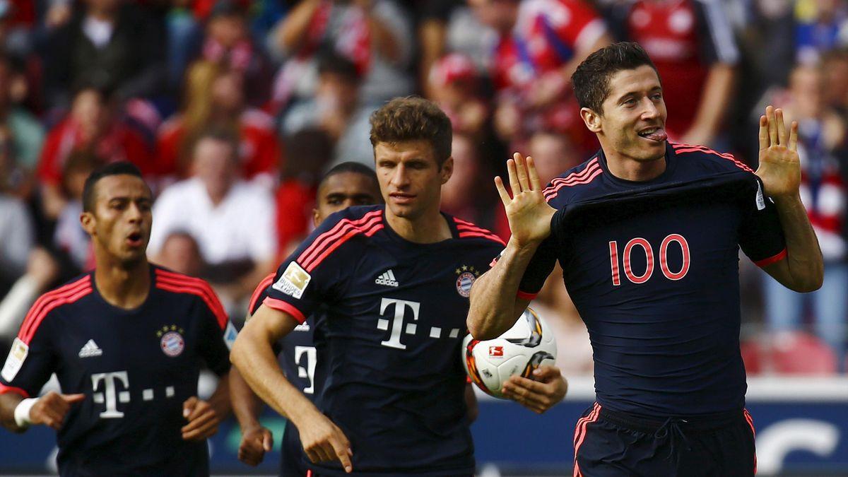 Lewandowski now in among top five all-time Champions