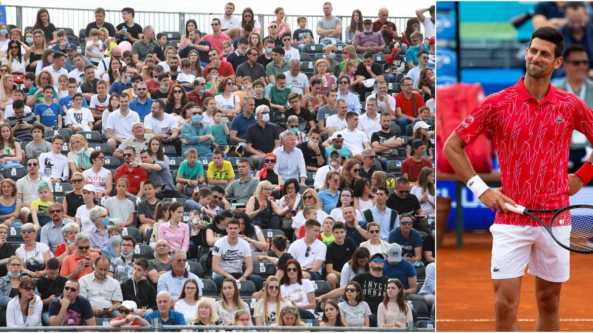 Novak Djokovic le-a răspuns criticilor după ce tribunele de la Adria Tour au fost pline ochi