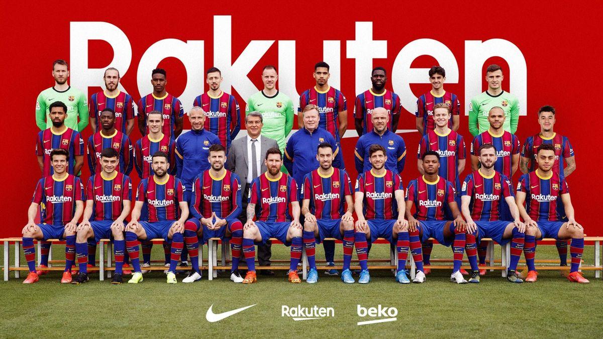 La photo officielle du Barça