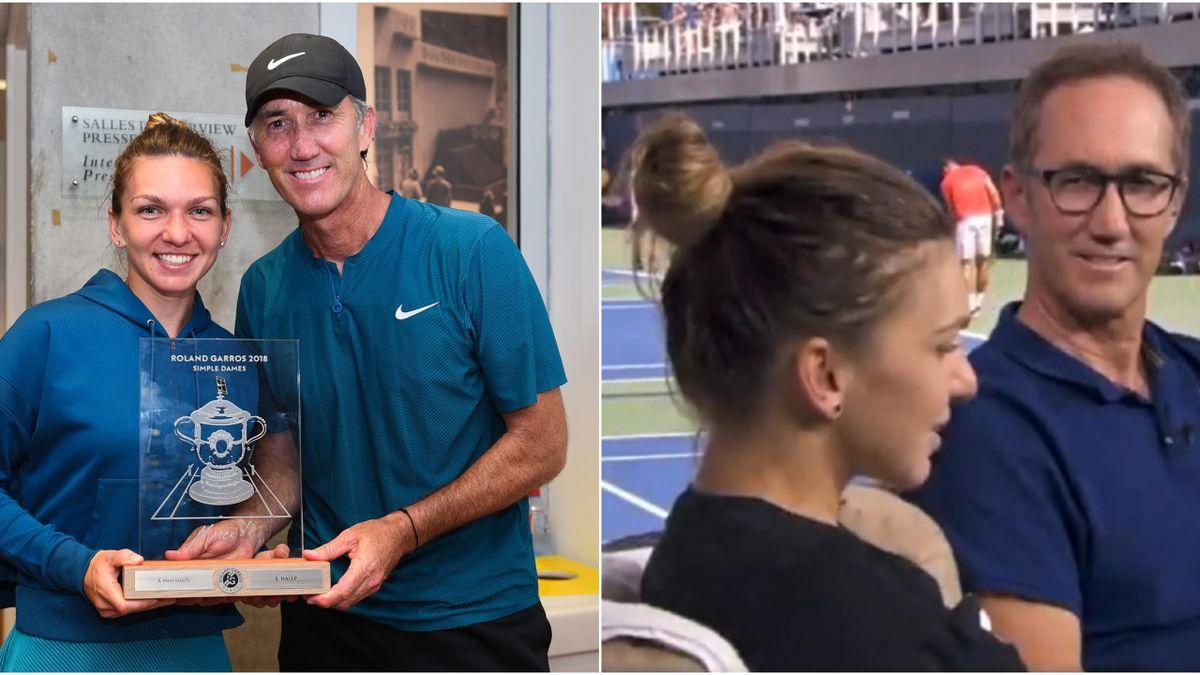 Simona Halep și Darren Cahill, gest minunat pentru antrenorii de tenis afectați de pandemia de coronavirus