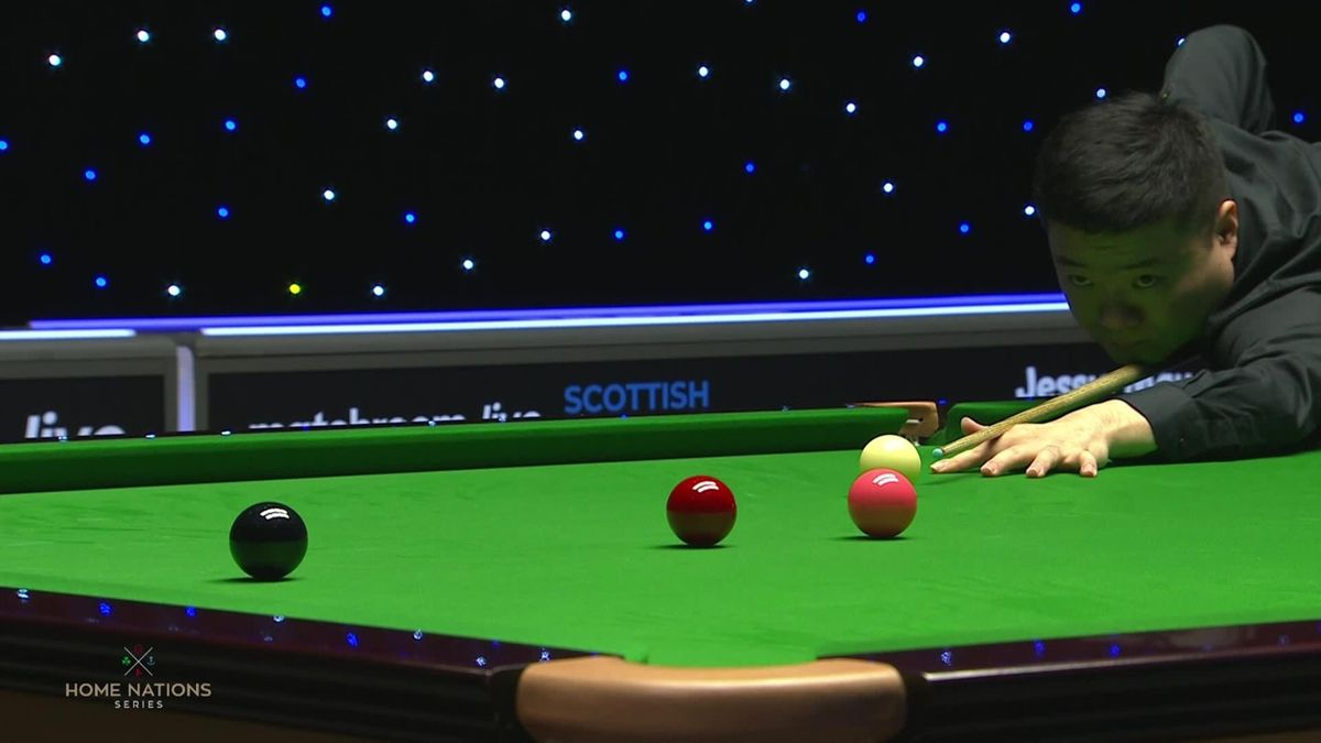 Snooker Scottish Open: Junhui Ding produces a century break of   to be back at 1-1 against O'Sullivan